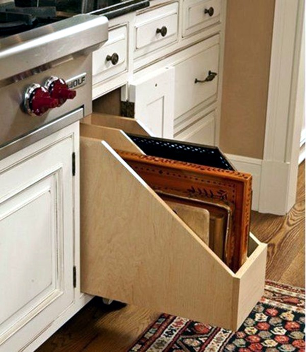Cutting Boards Also Have Their Space Kitchen Drawer Dividers Organize Your Kitchen Equipment