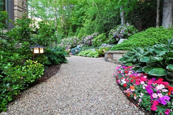 Landscaping with gravel and stones – 25 garden ideas for you ...