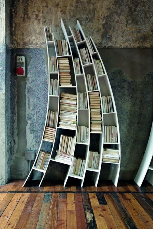 creative ideas for books storage original home library design - Library Design Ideas