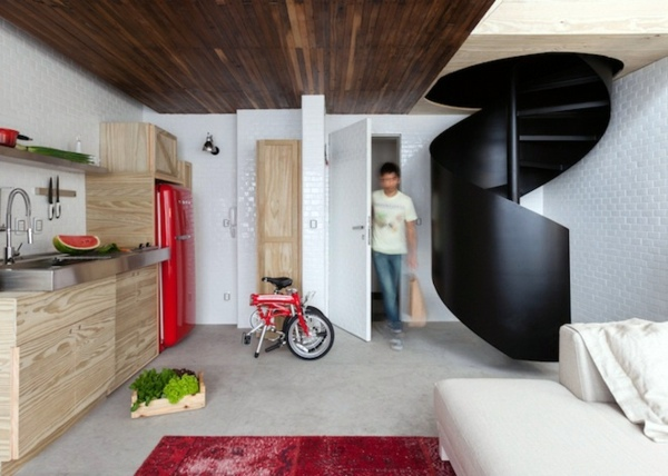 Small Apartment in Sao Paulo is an intelligent and creative ...