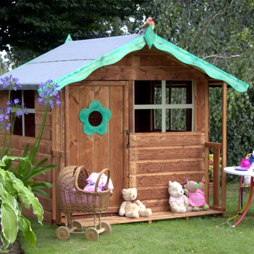 Playhouse for the garden interior design ideas avso org for Playhouse interior designs