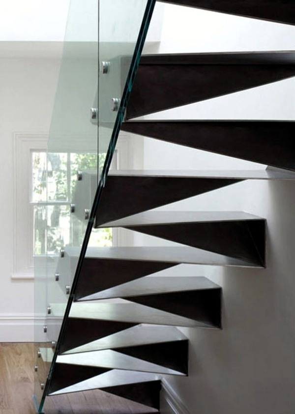 staircase folded triangular facets 20 wonderful design ideas for 2