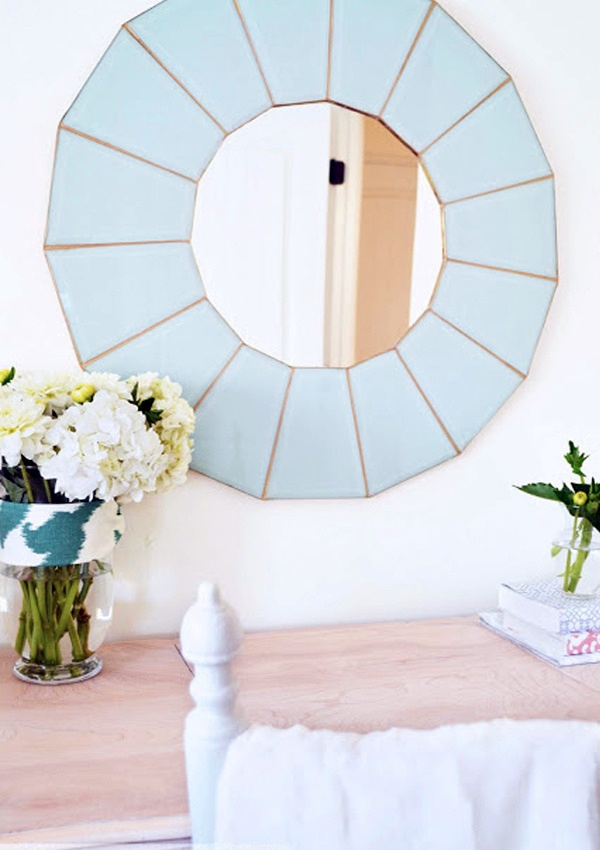 cool diy mirror very sophisticated but affordable