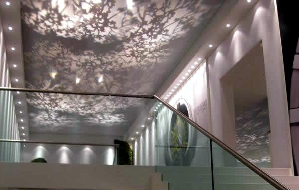 Procedes Ch 233 Nel Shows Modern Ceiling Design With Suspended