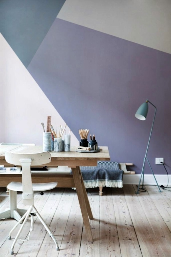 Bright wall colors - how to apply them effectively