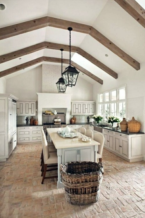 make kitchen in country style interior design ideas avso org. Black Bedroom Furniture Sets. Home Design Ideas