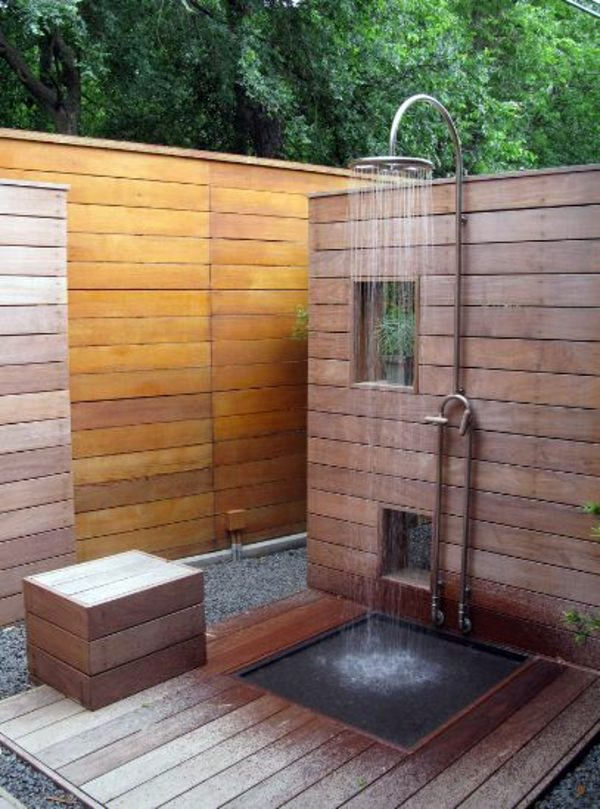 Simple Garden Shower Rain Is Even Better Build Itself Intended Inspiration Decorating