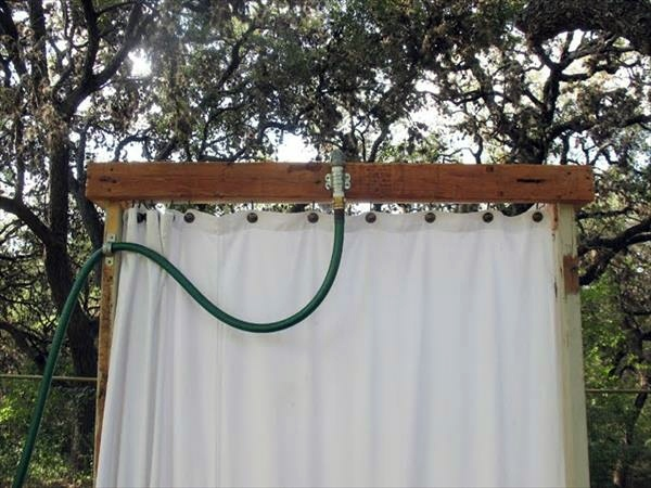 Build shower itself cool DIY Garden Shower from Euro pallets