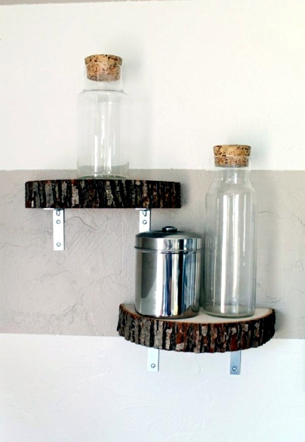 Modern wooden shelves to make your own | Interior Design Ideas | AVSO ...