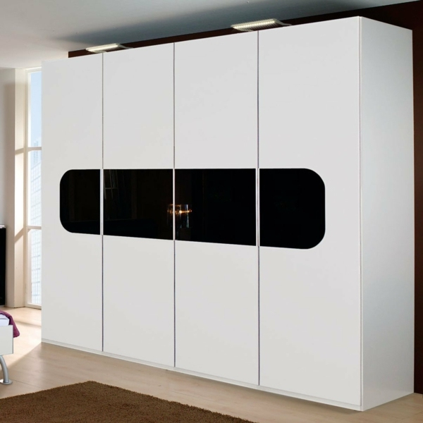 Chooses how to right doors for wardrobes interior design for 4 door wardrobe interior designs