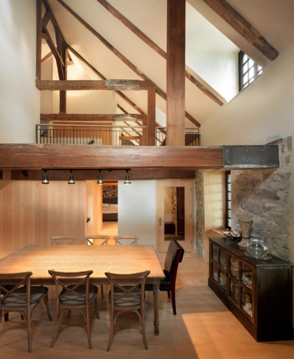 Historic home with modern upgrades in quebec interior for Modern house upgrades