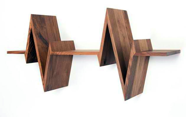 ... Regale - Wall shelf design adds life to your modern home