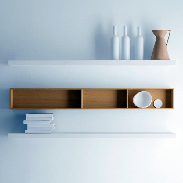 Wall shelf design adds life to your modern home | Interior ...