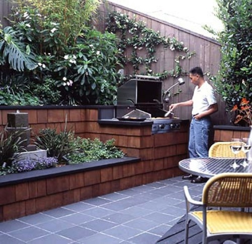 Tips for great landscape on small garden area interior for Landscape gardening for small gardens