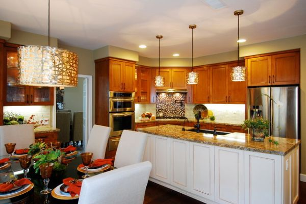 55 Beautiful cool pendant lights in the kitchen chic designer