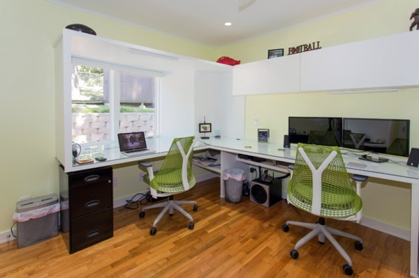 Home Office Design for two persons – Share you get your work space