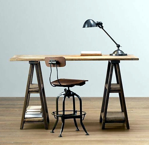Build desk itself 22 exceptional diy office tables interior brombel build desk itself 22 exceptional diy office tables solutioingenieria Image collections