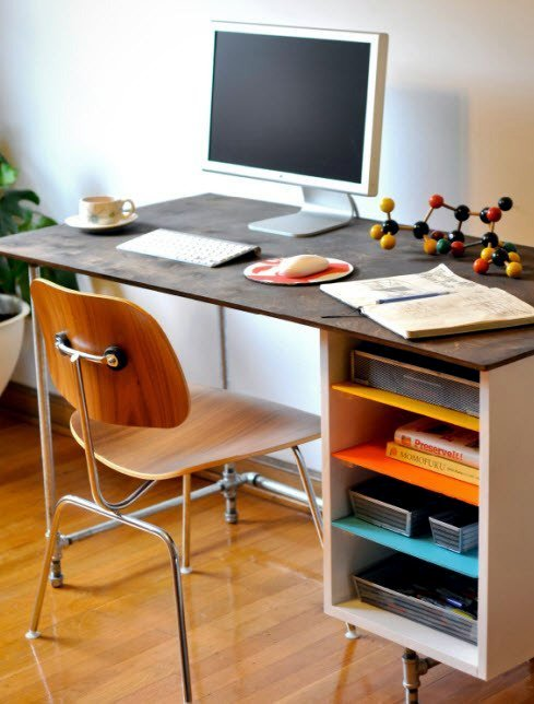 build desk itself 22 exceptional diy office tables diy e