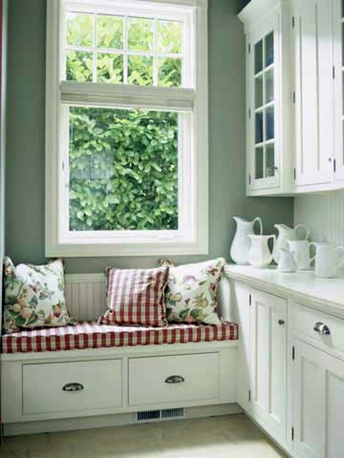 21 suggestions for cozy and comfortable sitting area by for Kitchen sitting area
