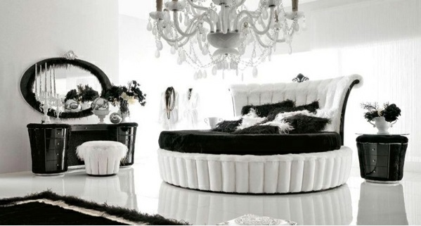 15 unique bedroom ideas in black and whiteinterior design ideas black white gold bedroom we - Black White And Silver Bedroom Ideas