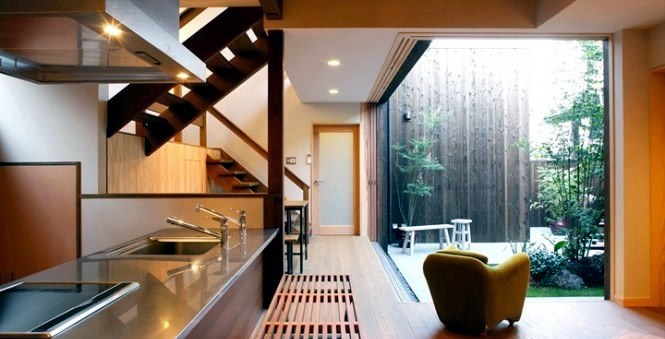 Modern japanese kitchen interior design interior design for Modern japanese house interior design