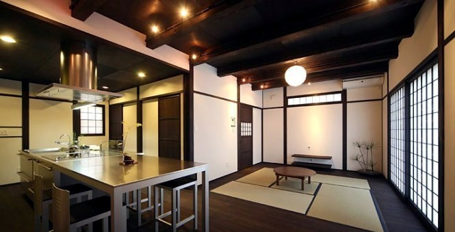 modern japanese kitchen interior design - Japanese Interior Designs