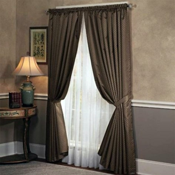 Ordinaire Great Combination Of Colors And Textures Bedroom Curtains   We Make Private  Space Stylish