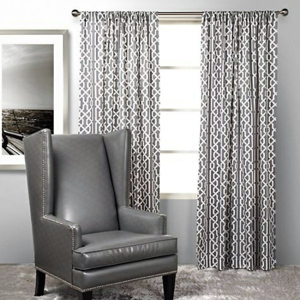 Gray Inspiration Bedroom Curtains   We Make Private Space Stylish