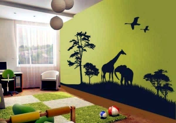 Decorating ideas for jungle and safari nursery decor ...