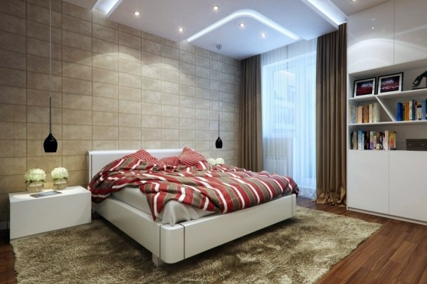 Narrow Bedroom Bed