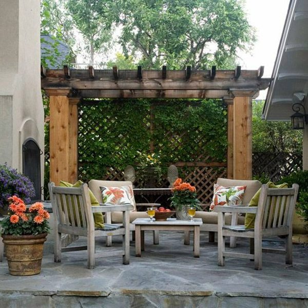 instructions to build a pergola