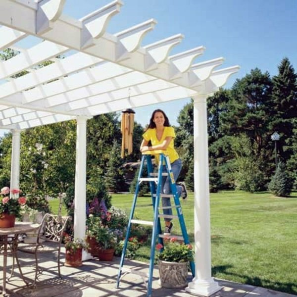 How To Build A Pergola Yourself Instructions And Photos