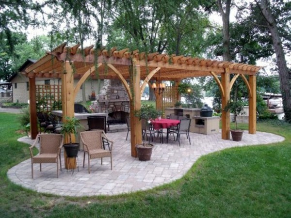 how to build a pergola yourself instructions and photos interior design ideas avso org. Black Bedroom Furniture Sets. Home Design Ideas