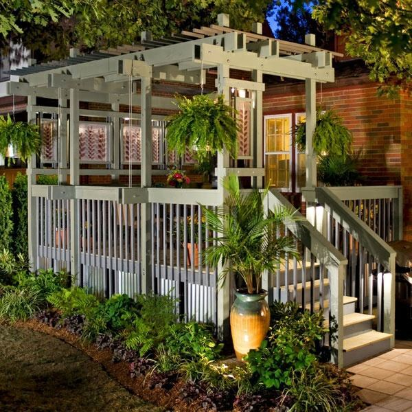 How to build a pergola yourself – instructions and photos ...
