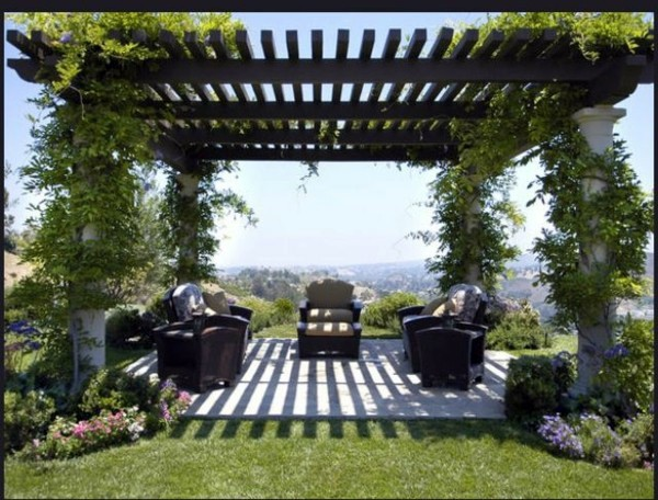 how to build a modern pergola