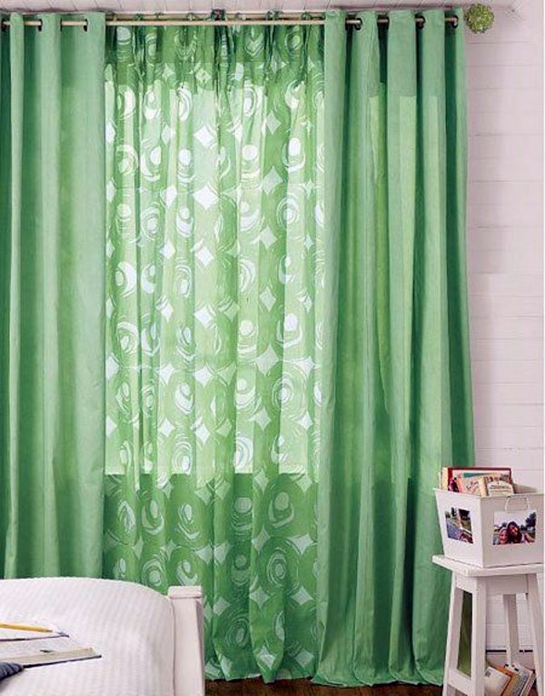 Density velvet curtains airy green curtains bright and neutral