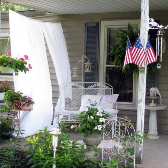 Balcony Design Inspiration Shabby Chic Style Interior