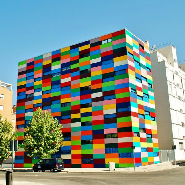 house facade underline  u2013 all bring rainbow colors to use