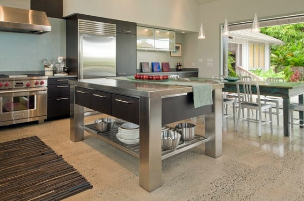 Stainless steel kitchen you beautify your kitchen island