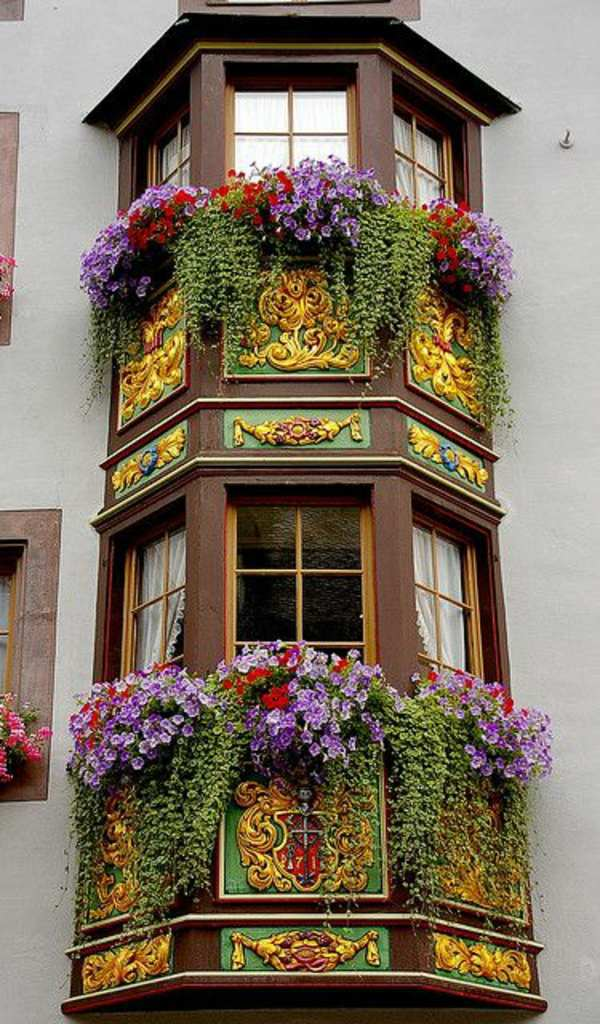 55 balcony greenery ideas choose flowers for balcony and for Window in german