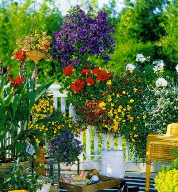 Garden Balconies: Choose Flowers For Balcony And