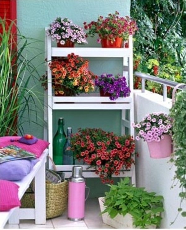 55 Balcony Greenery Ideas Choose flowers for balcony and