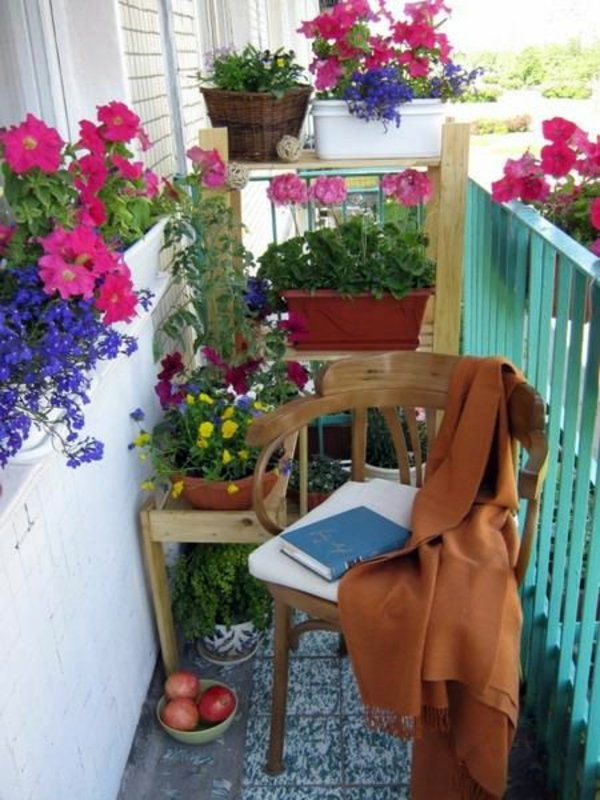 55 balcony greenery ideas choose flowers for balcony and for How to decorate terrace with plants