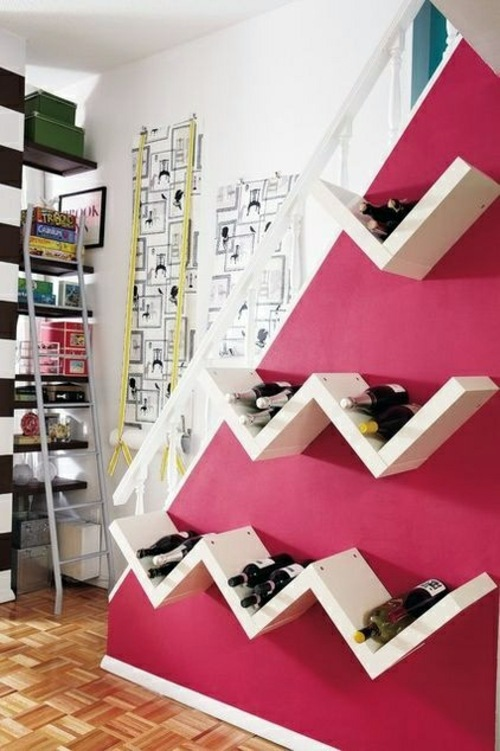 Craft ideas, as you could easily build a wine rack | Interior Design ...