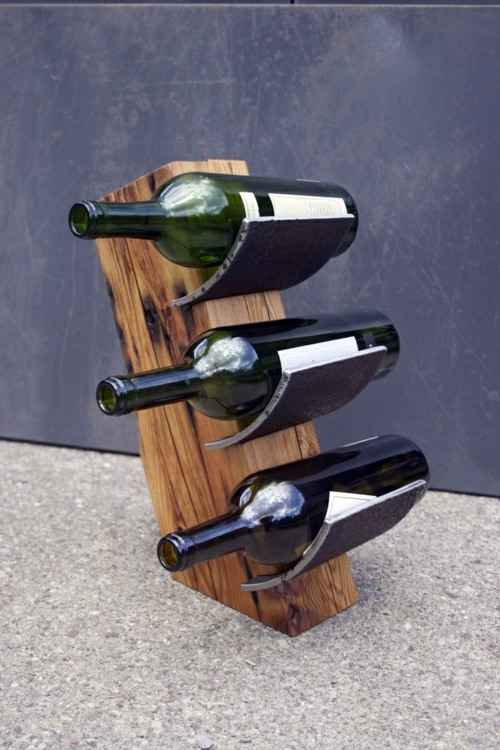 ... As You Could Easily Build A Wine Rack
