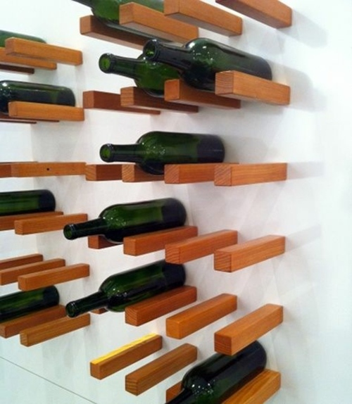 Craft ideas as you could easily build a wine rack for Easy homemade wine rack