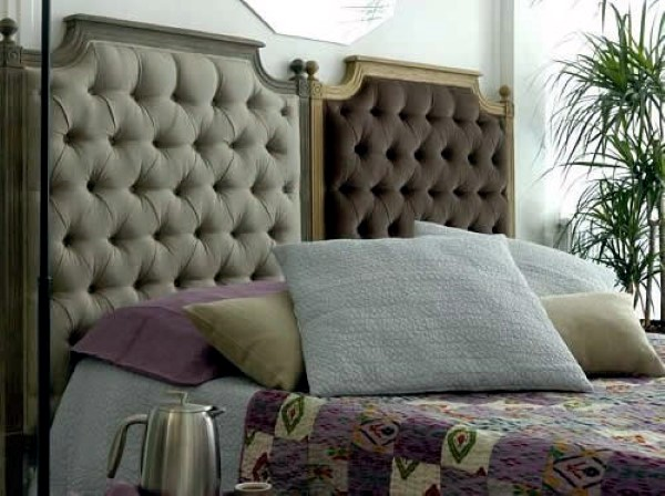 Great headboard ideas - you do not need anything else .