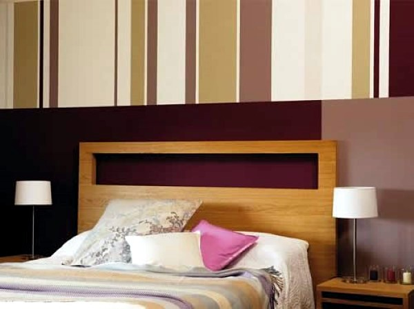 Great headboard ideas - you do not need anything else