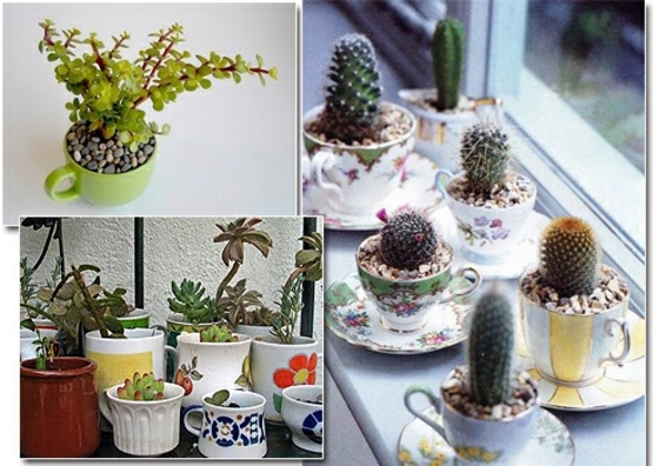 Of decoration itself diy projects from reusable for Flower pot out of waste material