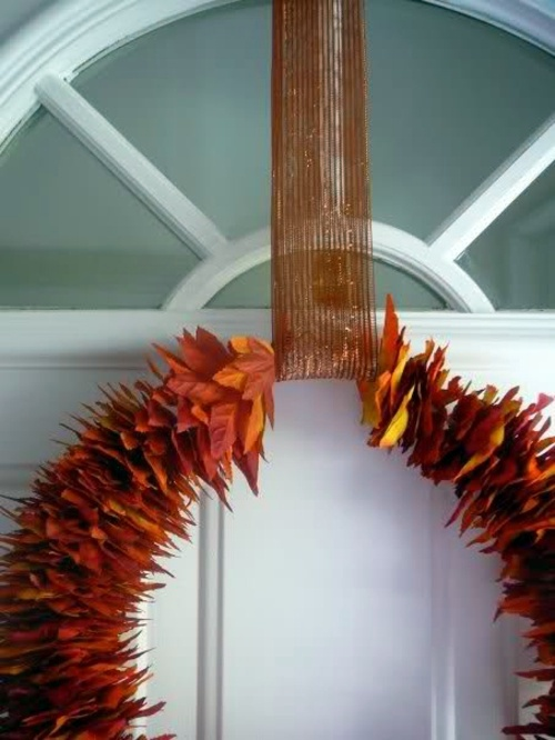 remarkable michigan exposures office thanksgiving decorations | 35 Decorating ideas for a homemade autumn door wreath ...